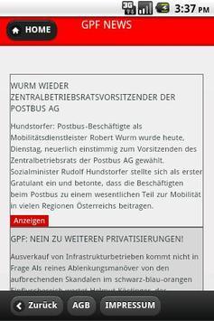 Die GPF-App: Rat und Hilfe apk screenshot