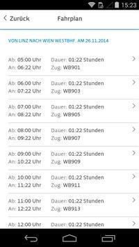 WESTbahn screenshot 1
