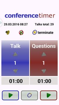 Conference Timer apk screenshot
