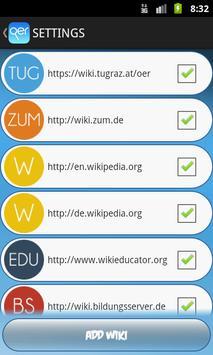 OER Wiki screenshot 3