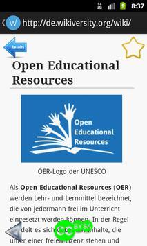 OER Wiki screenshot 1