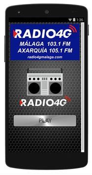 Radio 4G Málaga poster