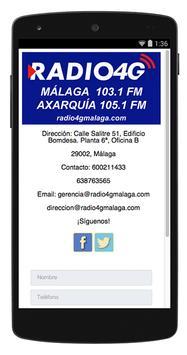Radio 4G Málaga screenshot 1