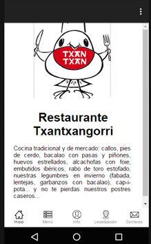Restaurante Txantxangorri poster