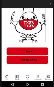 Restaurante Txantxangorri apk screenshot