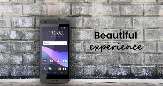Desire 555 Theme and Launcher - HTC poster