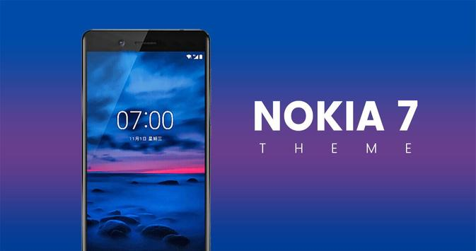 Theme for Nokia 7 poster