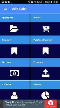 ABK-Sales Mobile App screenshot 1