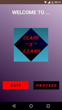Class X Exams poster