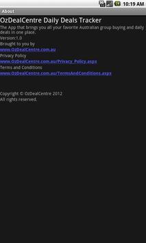 OzDealCentre All Deals Tracker apk screenshot