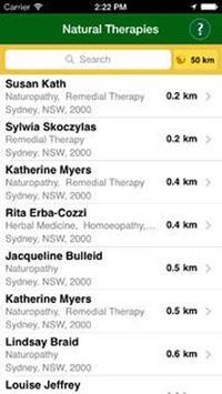 Natural Therapies App apk screenshot