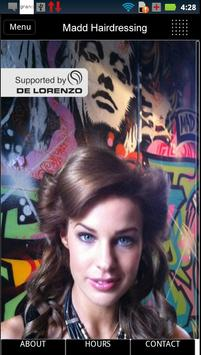 MADD HAIRDRESSING poster