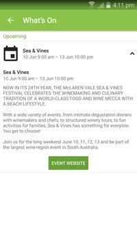 McLaren Vale Wineries App screenshot 4