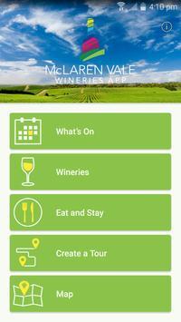 McLaren Vale Wineries App poster