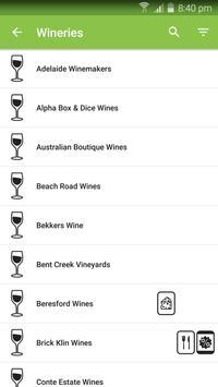 McLaren Vale Wineries App screenshot 1