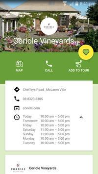 McLaren Vale Wineries App screenshot 3
