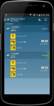 Melbourne Airport apk screenshot