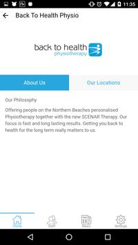 Back to Health Physiotherapy apk screenshot