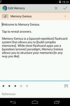 Memory Genius apk screenshot