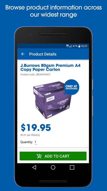 Officeworks apk download free business app for android apkpure officeworks poster officeworks gumiabroncs Gallery
