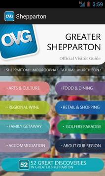 OVG - Shepparton poster