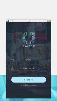 Amber Car Booking poster