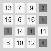 1 to 16 icon