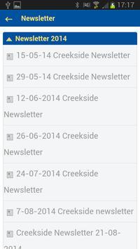 Creekside College apk screenshot