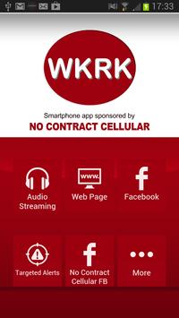 WKRK 1320 poster