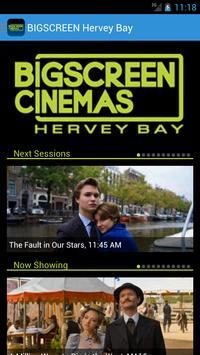 BIGSCREEN Hervey Bay poster
