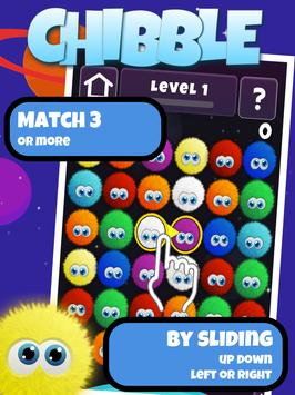 Poster Chibble The Best Match 3 Gioco