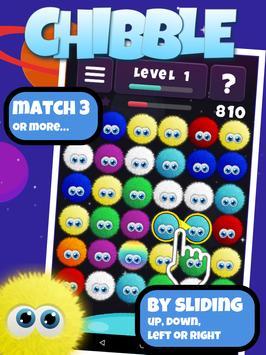 Schermata apk Chibble The Best Match 3 Gioco