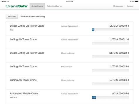 CraneSafe apk screenshot