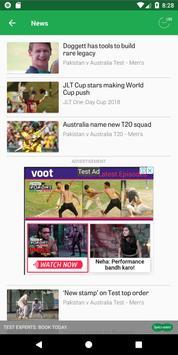 Cricket screenshot 2