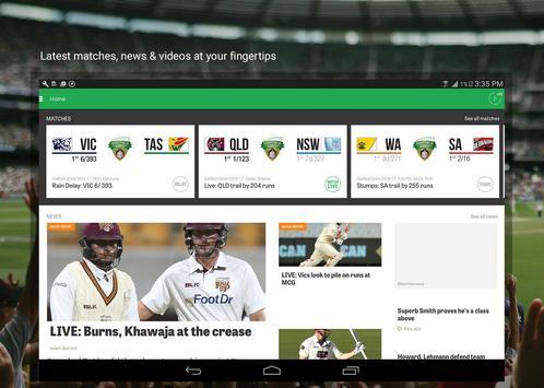 Cricket Australia Live apk screenshot
