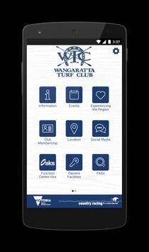 Wangaratta Turf Club poster