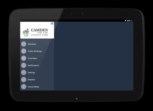 Camden Golf Club apk screenshot