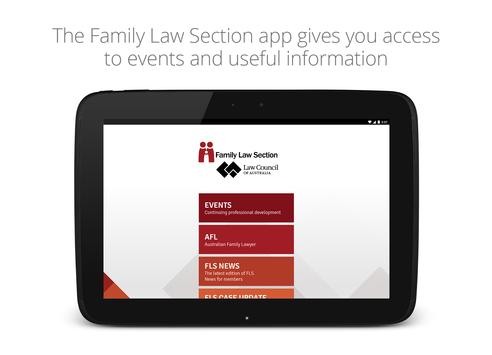 Family Law Section screenshot 3