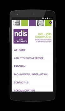 NDIS Conference 2015 poster