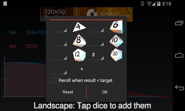 Dice Champion Probability FREE apk screenshot