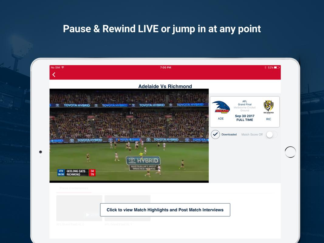 Watch Afl For Android Apk Download
