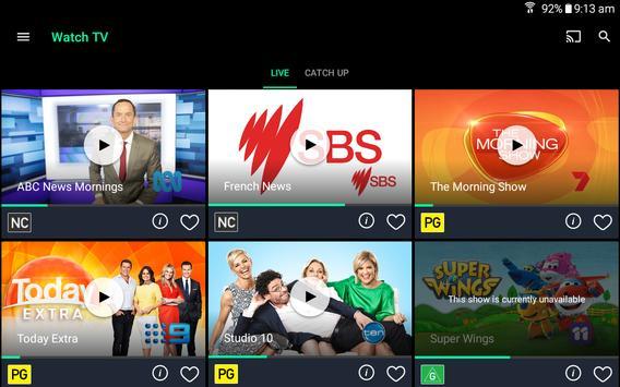 Freeview FV تصوير الشاشة 10