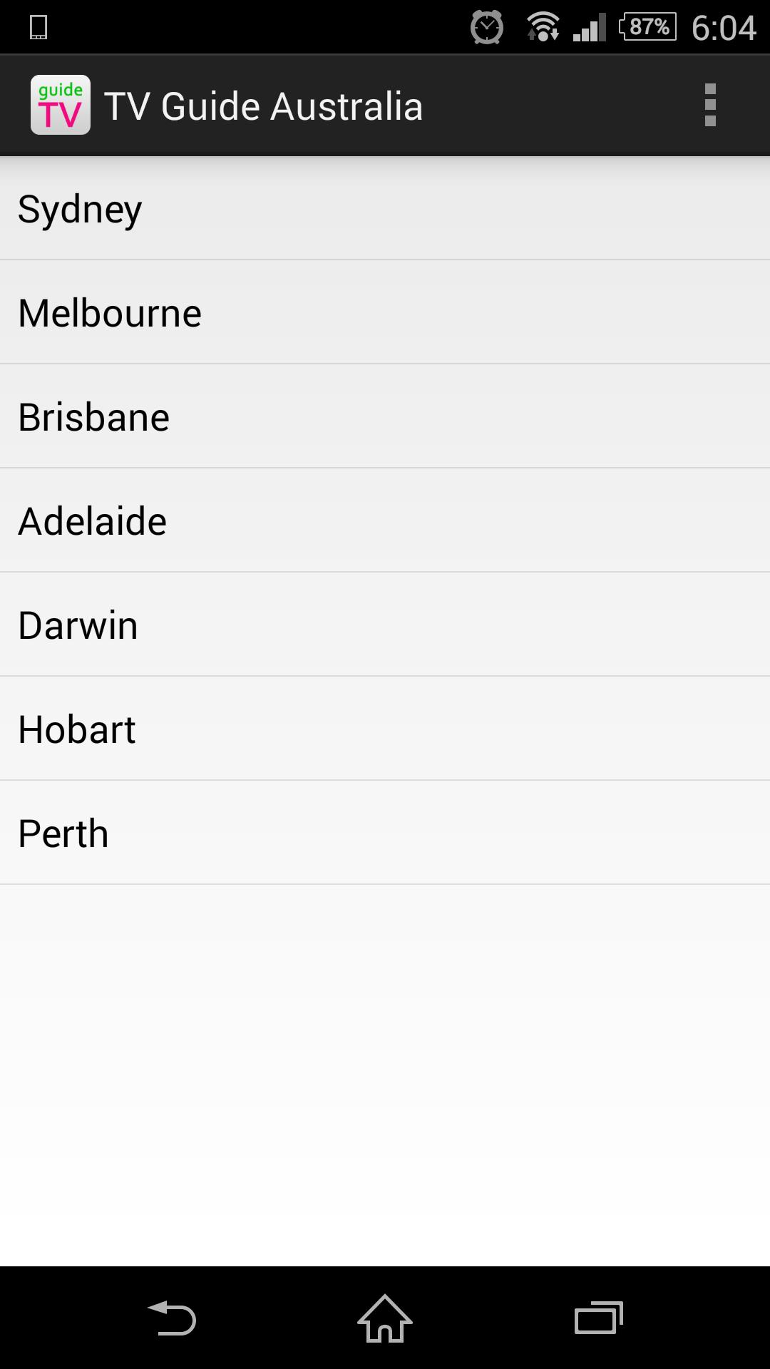 TV Guide Australia for Android - APK Download