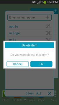Minima List apk screenshot
