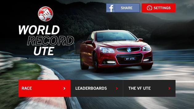 Holden World Record Ute poster