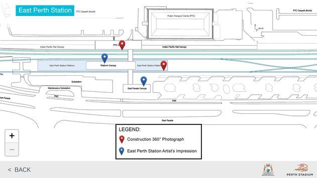 East Perth Station Upgrade screenshot 1