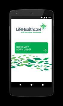 LifeHealthcare Event Portal poster
