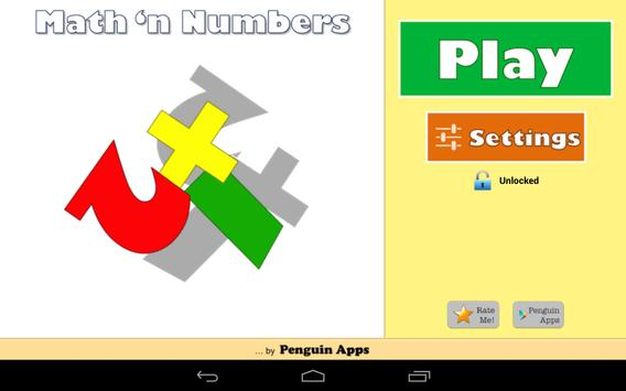 Maths and Numbers - Maths games for Kids & Parents apk screenshot