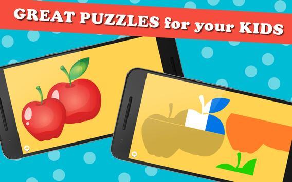 Puzzle Games for Kids capture d'écran 16