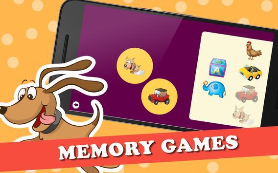 Puzzle Games for Kids capture d'écran 17